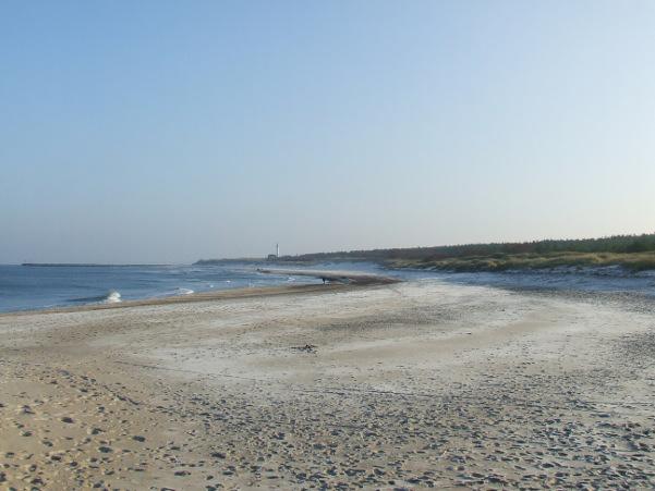 Plaże w Ustce