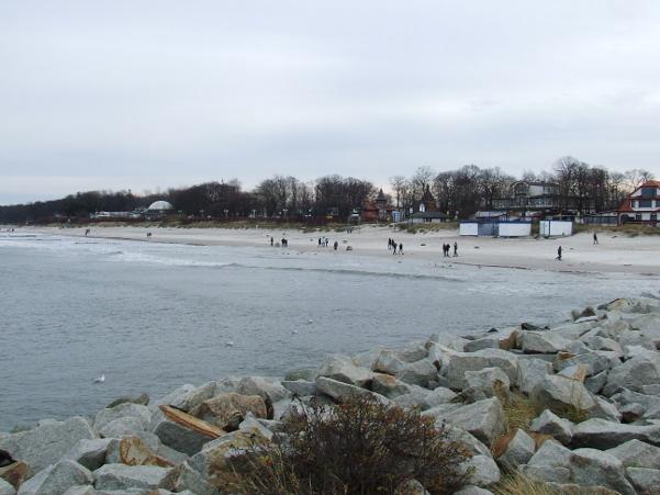 Plaża wschodnia Ustka, marzec 2016