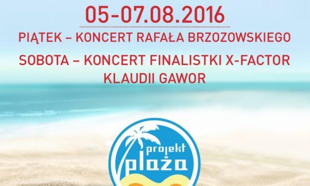 Projekt Plaża Ustka 2016