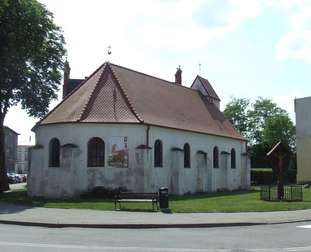 Kościół św. Jerzego w Darłowie, czerwiec 2016.