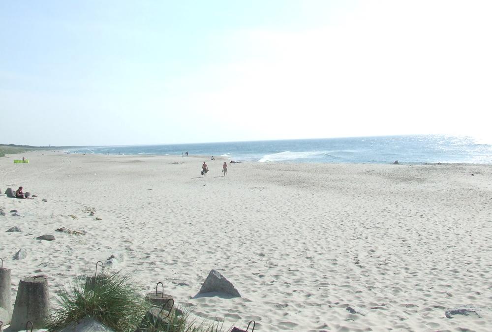 Plaża zachodnia Darłowo, czerwiec 2016.