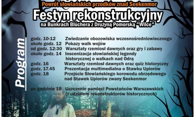 """Festyn rekonstrukcyjny """"Duchy Uroczyska"""" na Bunkrach Bluchera"""